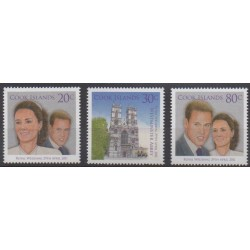 Cook (Islands) - 2011 - Nb 1375/1377 - Royalty