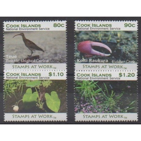 Cook (Islands) - 2011 - Nb 1384/1387 - Environment