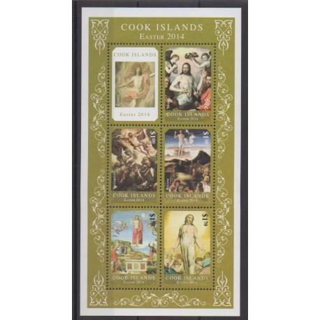 Cook (Islands) - 2014 - Nb 1570/1574 - Easter
