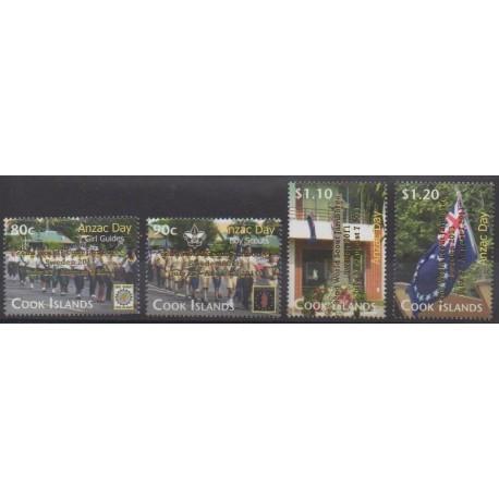 Cook (Islands) - 2011 - Nb 1390/1393 - Scouts