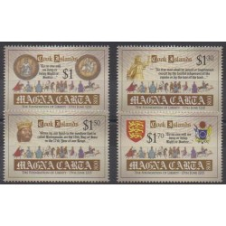 Cook (Islands) - 2015 - Nb 1628/1631 - Various Historics Themes