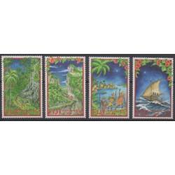 Fiji - 2000 - Nb 923/926 - Christmas