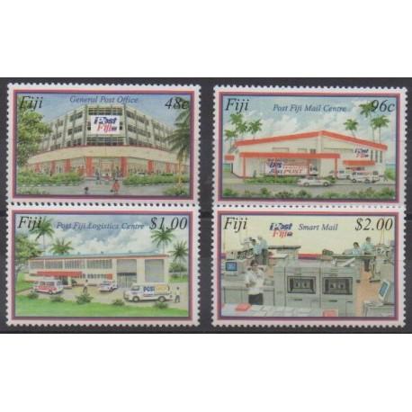Fiji - 2003 - Nb 981/984 - Postal Service