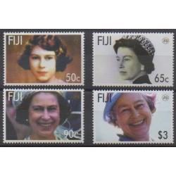 Fiji - 2006 - Nb 1103/1106 - Royalty