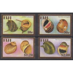 Fiji - 2007 - Nb 1148/1151 - Sea life