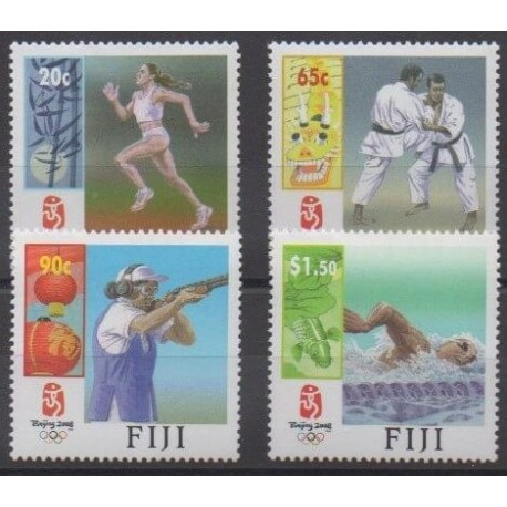 Fiji - 2008 - Nb 1176/1179 - Summer Olympics