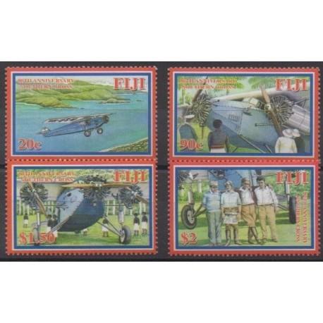 Fiji - 2008 - Nb 1184/1187 - Planes