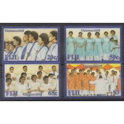 Fiji - 2008 - Nb 1196/1199 - Christmas - Music
