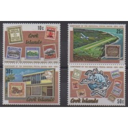 Cook (Islands) - 1974 - Nb 394/397 - Stamps on stamps
