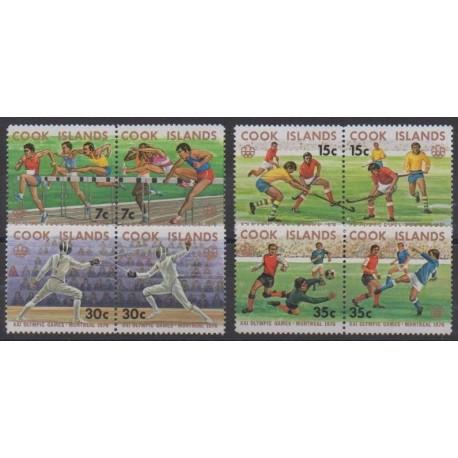 Cook (Islands) - 1976 - Nb 440/447 - Summer Olympics