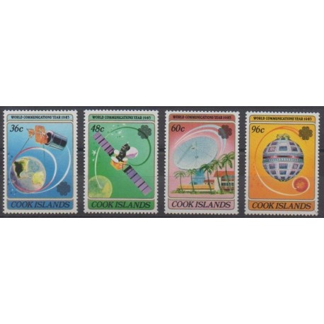Cook (Islands) - 1983 - Nb 738/741 - Telecommunications
