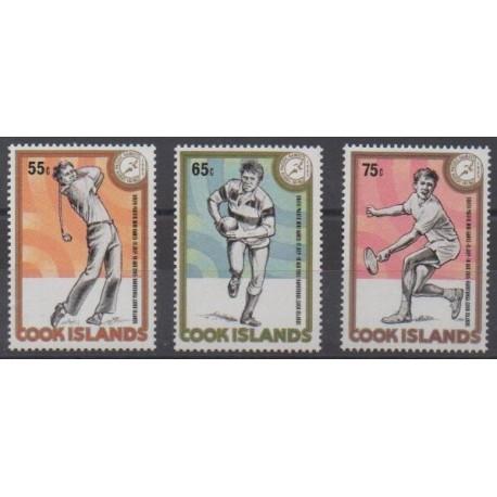Cook (Islands) - 1985 - Nb 843/845 - Various sports