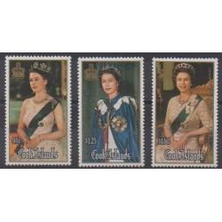 Cook (Islands) - 1986 - Nb 855/857 - Royalty