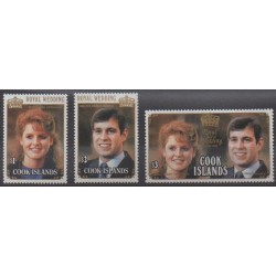 Cook (Islands) - 1986 - Nb 864/866 - Royalty