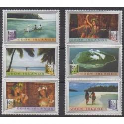 Cook (Islands) - 1997 - Nb 1147/1152 - Cinema