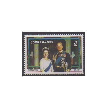 Cook (Islands) - 1997 - Nb 1153 - Royalty