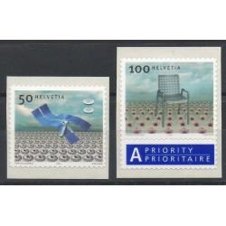 Swiss - 2004- Nb 1808/1809 - Art