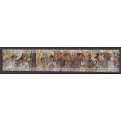 Costa Rica - 2008 - Nb 873/876 - Various Historics Themes - Paintings