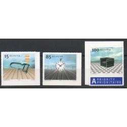 Swiss - 2003- Nb 1786/1788 - Art