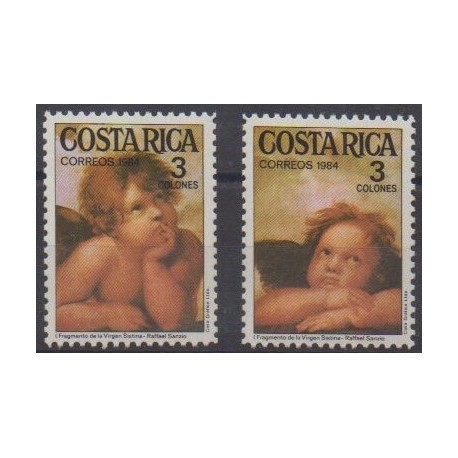 Costa Rica - 1984 - Nb 400/401 - Christmas