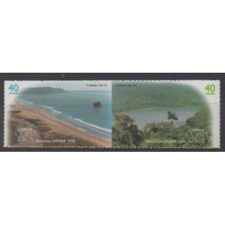 Costa Rica - 1995 - Nb 597/598 - Sights