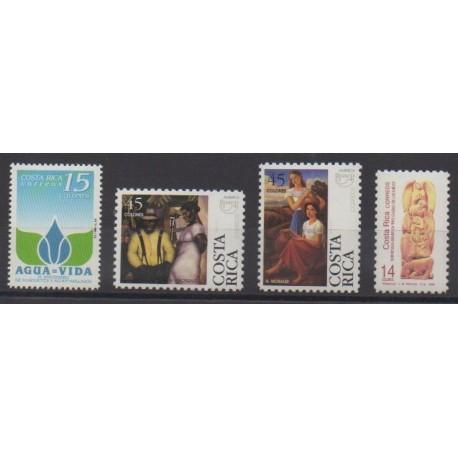 Costa Rica - 1996 - Nb 614/617