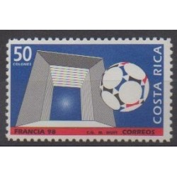 Costa Rica - 1998 - Nb 630 - Soccer World Cup