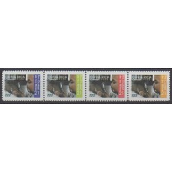 Costa Rica - 2001 - Nb 698/701 - Philately