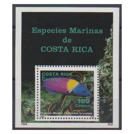 Costa Rica - 1994 - Nb BF14 - Sea life