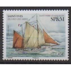 Saint-Pierre and Miquelon - 2020 - Nb 1249 - Boats