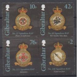 Gibraltar - 2012 - Nb 1480/1483 - Planes