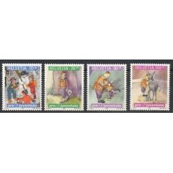 Suisse - 1999- No 1629/1632 - Cirque
