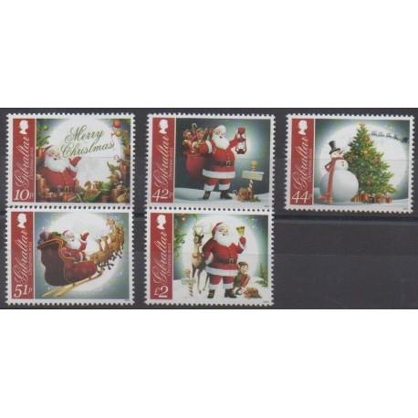 Gibraltar - 2012 - Nb 1508/1512 - Christmas