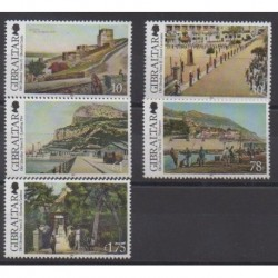 Gibraltar - 2012 - Nb 1499/1503 - Sights