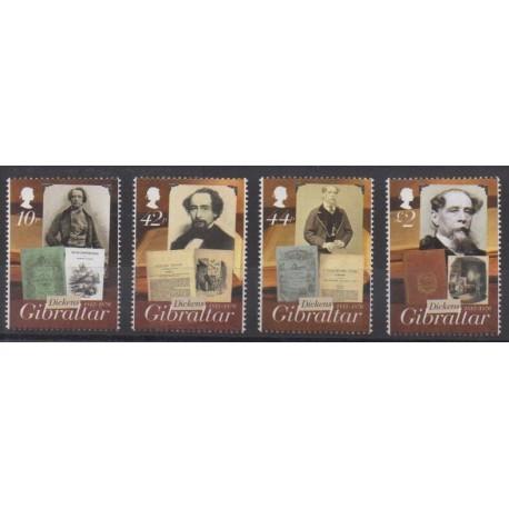Gibraltar - 2012 - Nb 1491/1494 - Literature