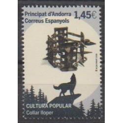 Andorre espagnol - 2020 - No 483
