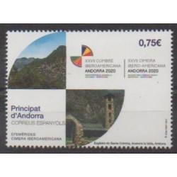 Andorre espagnol - 2020 - No 481