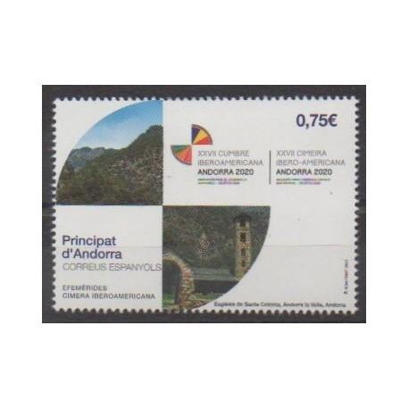 Spanish Andorra - 2020 - Nb 481