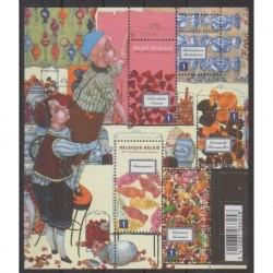 Belgique - 2011 - No 4166/4170 - Gastronomie