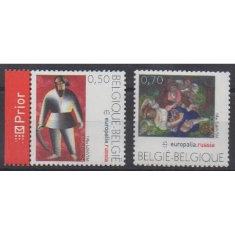 Belgium - 2005 - Nb 3415/3416 - Paintings