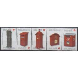 Belgium - 2011 - Nb 4111/4115 - Postal Service