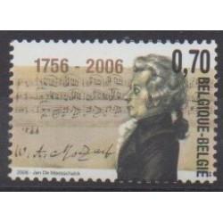Belgium - 2006 - Nb 3455 - Music