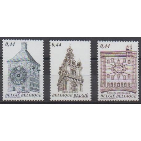 Belgium - 2005 - Nb 3381/3383 - Monuments