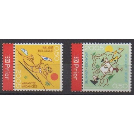 Belgium - 2005 - Nb 3384/3385