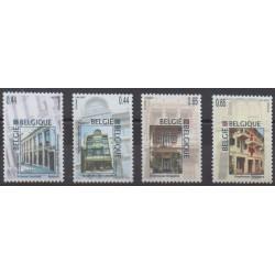 Belgium - 2005 - Nb 3411/3414 - Architecture