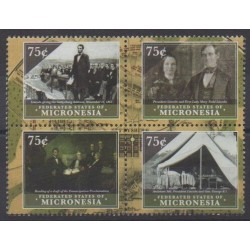 Micronesia - 2010 - Nb 1811C/1811F - Celebrities - Various Historics Themes