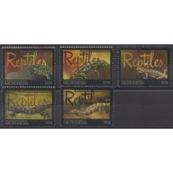 Micronesia - 2011 - Nb 1862/1866 - Reptils