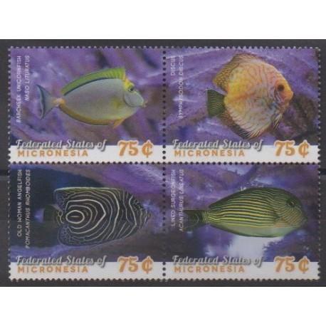 Micronesia - 2014 - Nb 2145/2148 - Sea life
