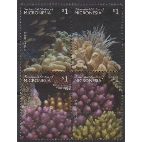 Micronesia - 2014 - Nb 2180/2183 - Sea life