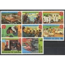 Zaïre - 1980 - No 984/991